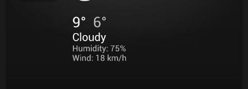 E o  frio foi embora.